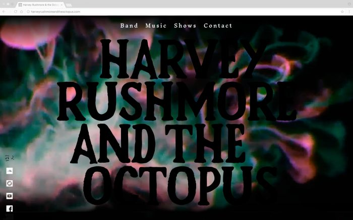 Harvey Rushmore and the Octopus